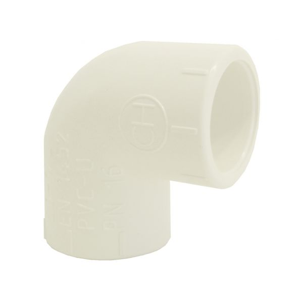 ELBOW 90º SOLVENT WHITE